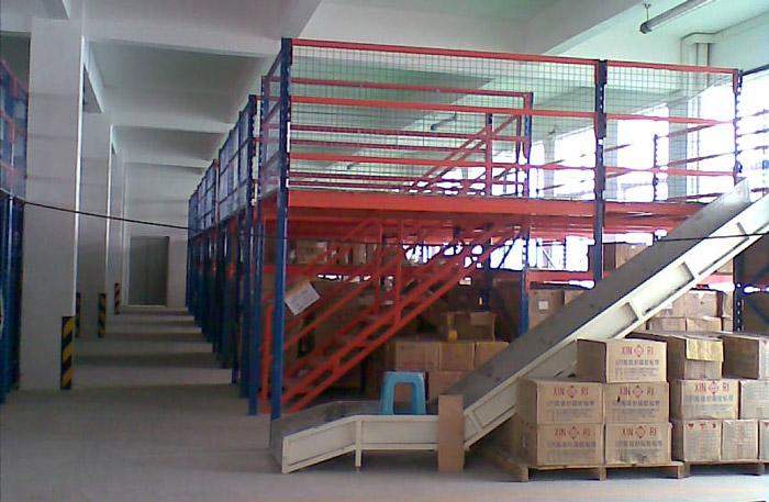 阁楼式货架