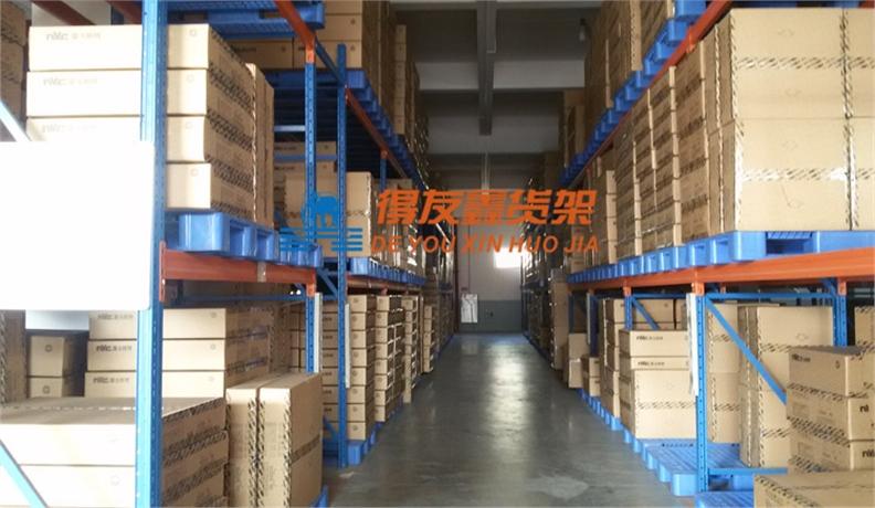 灯饰灯具照明行业仓储货架解决方案-欧普照明(横梁式货架)