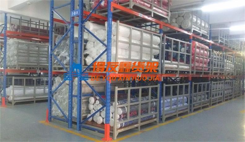 布料布匹行业仓储货架解决方案