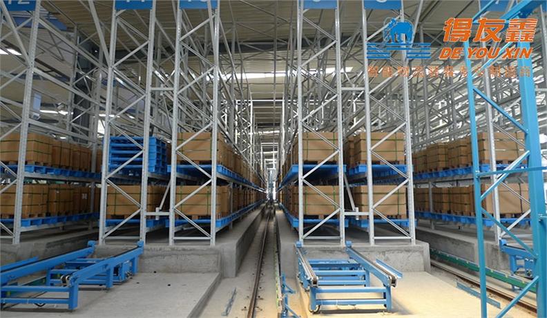 机械制造行业堆跺机自动化立体仓库