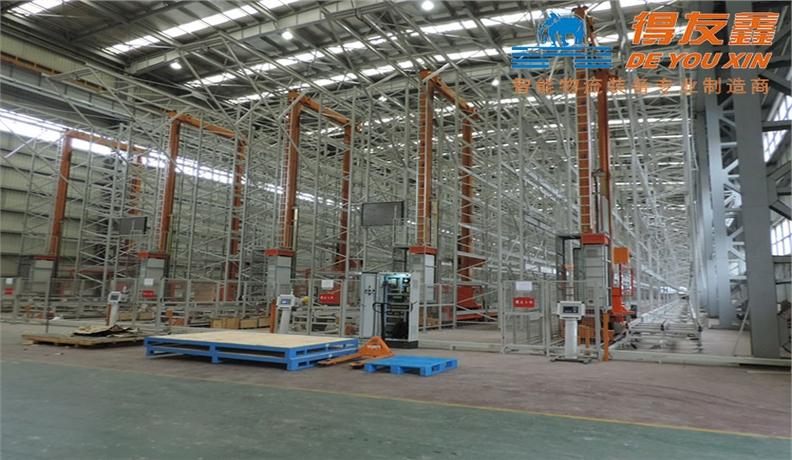 船舶行业堆跺机自动化立体仓库