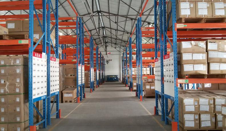 移动通讯行业仓储货架解决方案-中国移动(库房货架)